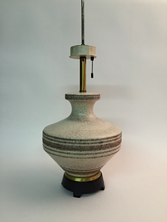 Gerald Thurston For Lightolier Ceramic Table Lamp